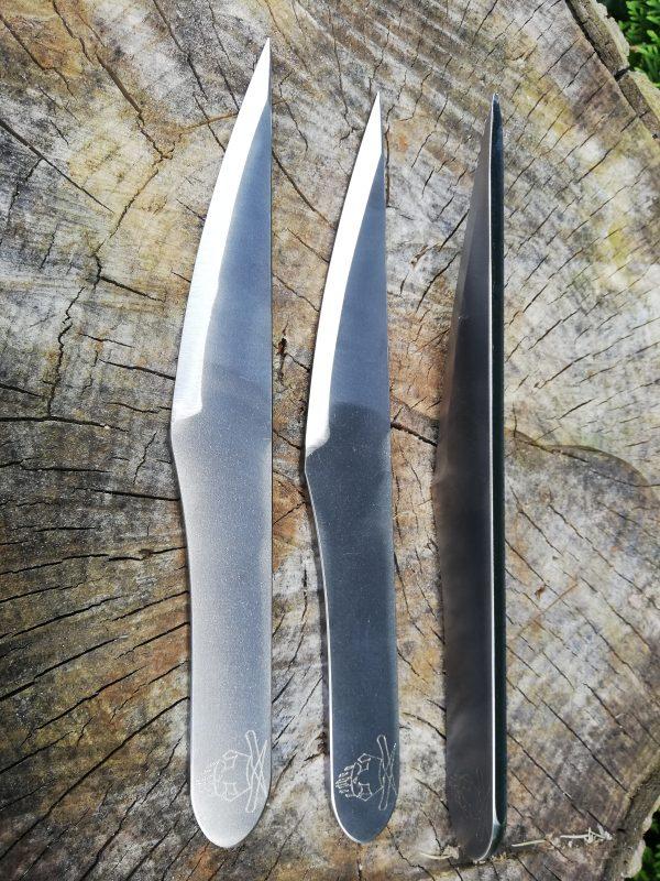 Big slim 2, no spin, half spin, by zitoon Knives